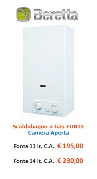 scaldabagno a gas beretta fonte www.mt-termoidraulica.it a roma