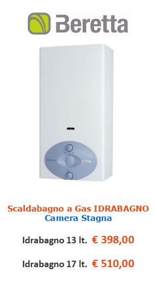 scaldabagno a gas beretta idrabagno www.mt-termoidraulica.it a roma