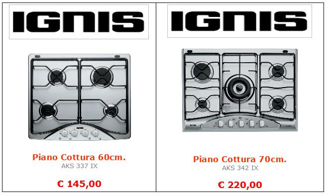 piano cottura ignis mt termoidraulica roma