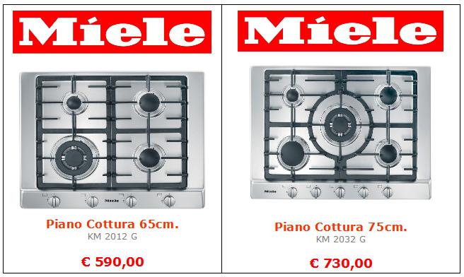 piano cottura miele mt termoidraulica roma