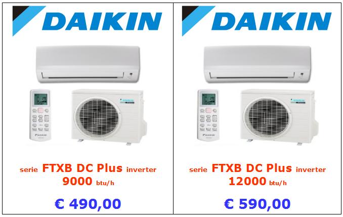 vendita ingrosso climatizzatore daikin ftxb dc plus a roma