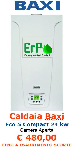 caldaia baxi eco 5 compact 24 kw a roma
