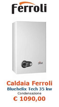 caldaia ferroli bluehelix tech 35 kw www.mt-termoidraulica.it a roma