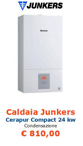 caldaia junkers cerapur compact 24 a roma