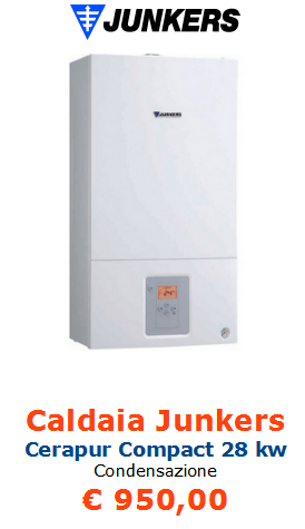caldaia junkers cerapur compact 28 kw a roma