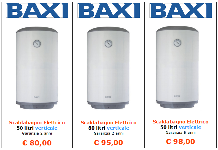 Vendita caldaie vendita caldaie beretta a roma vendita - Scaldabagno elettrico vaillant ...
