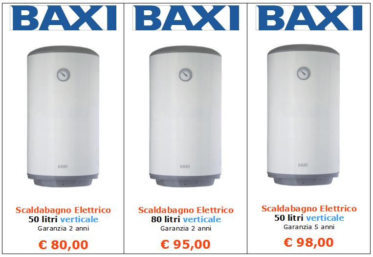 scaldabagno elettrico baxi a roma www.alesar.net www.mt-termoidraulica 1