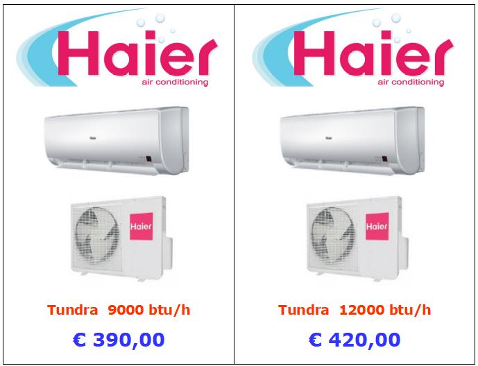 climatizzatore haier tundra 9000 btu 12000 btu www.mt-termoidraulica.it a roma