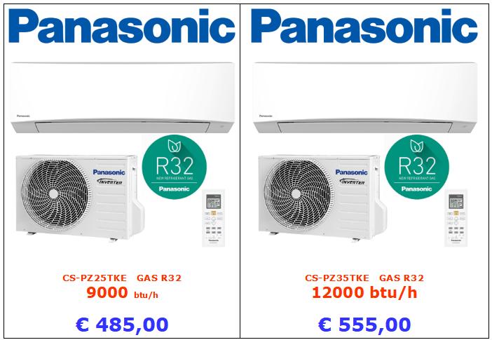 climatizzatori PANASONICCS-PZ25TKE a roma 9000 btu 12000 btu inverter www.mt-termoidraulica.it a roma