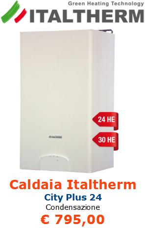 caldaia italtherm city plus 24 a condensazione a roma