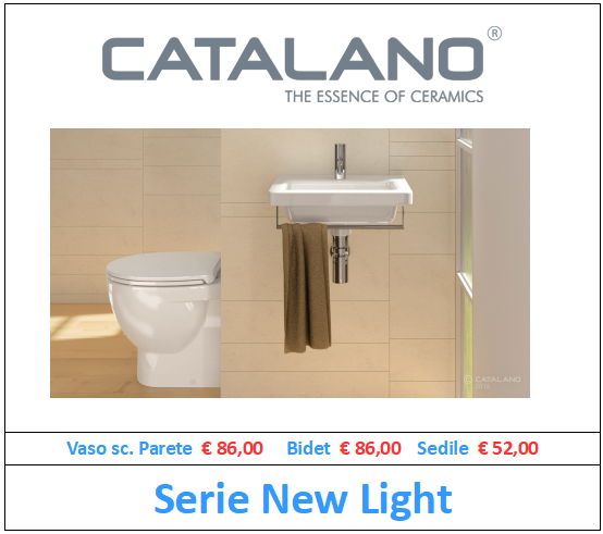sanitari catalano serie new light a roma