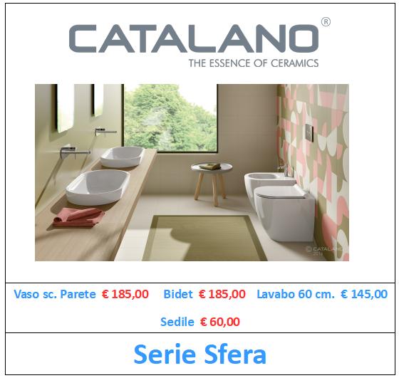 sanitari catalano serie sfera a roma