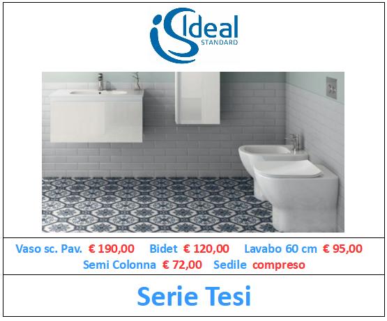 sanitari ideal standard serie tesi a roma