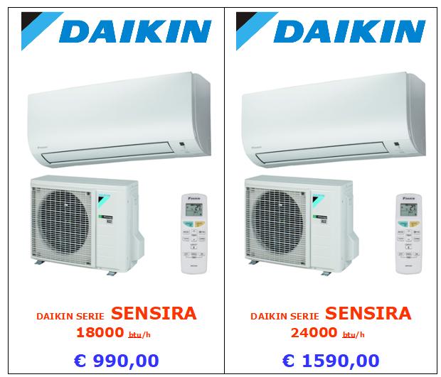 DAIKIN SENSIRA 18000 24000 A ROMA