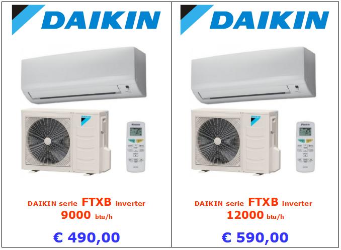climatizzatore daikin serie ftxb www.mt-termoidraulica.it a roma