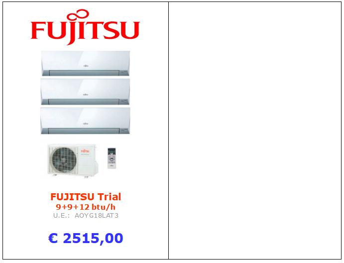climatizzatore fujitsu trial split www.mt-termoidraulica.it a roma