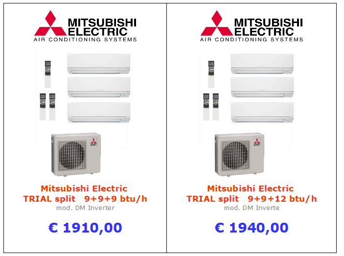 Mitsubishi Electric TRIAL DM Inverter a roma