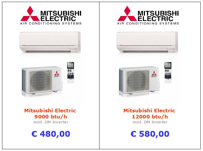 climatizzatore mitsubishi electric serie dm a roma