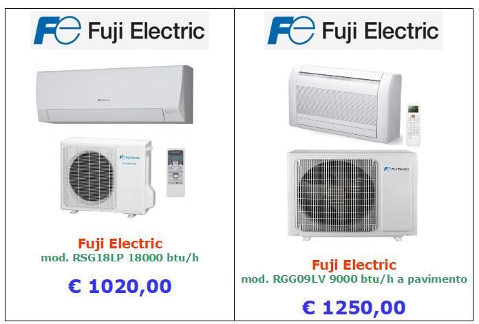 climatizzatore fuji electric a roma 18000 btu