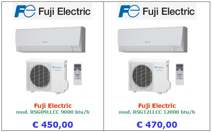 climatizzatore fuji electric a roma 9000 btu