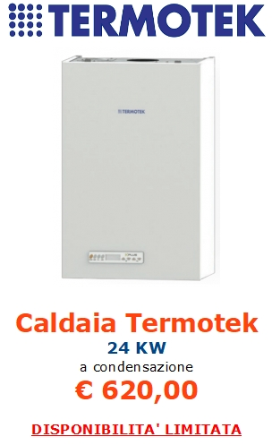 caldaia termotek a condensazione a roma