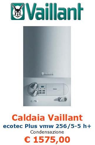 caldaia a condensazione vaillant ecotec plus vmw 256 5 5 h+ vendita a roma