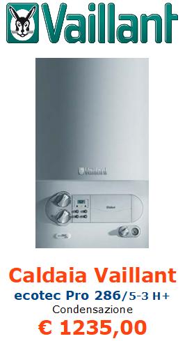 caldaia a condensazione vaillant ecotec pro vmw 286 5 3 h+ vendita a roma