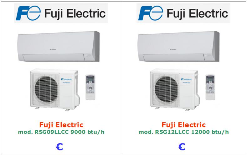 climatizzatore fuji 9000 12000 vendita a roma
