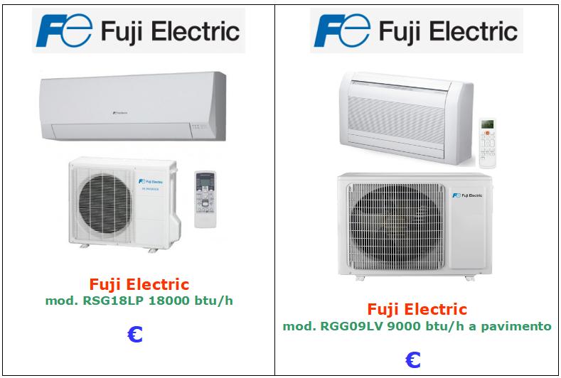 climatizzatore fuji vendita a roma