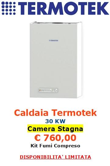 caldaia termotek a camera stagna a roma