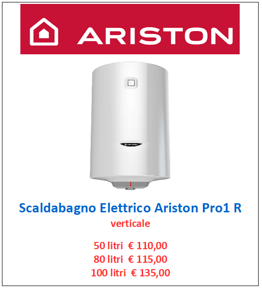 scaldabagno elettrico ariston pro1 a roma
