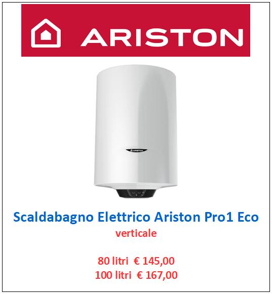 scaldabagno elettrico ariston pro1 eco a roma