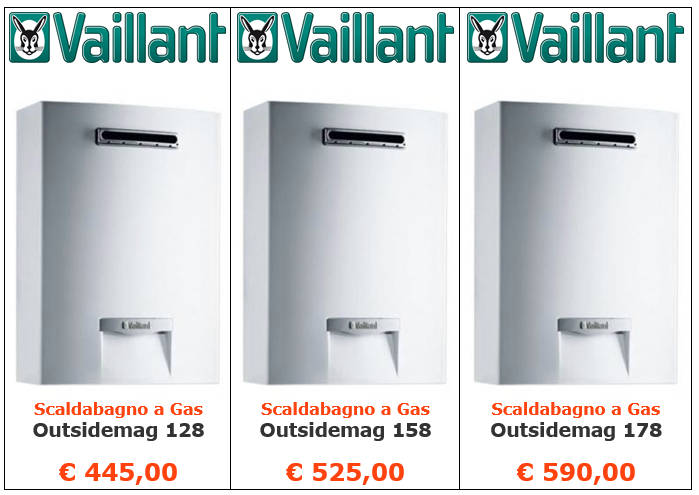 scaldabagno a gas vaillant outsidemag a roma