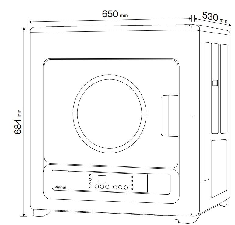 asciugatrice a gas soft dry 6 kg a roma dimensioni